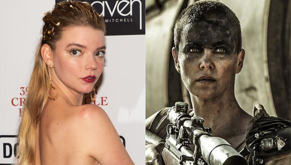 """Anya Taylor-Joy tomará el relevo de Charlize Theron en secuela de """"Mad Max: Fury Road"""". (Foto: NIKLAS HALLE'N / AFP / IMDb)"""