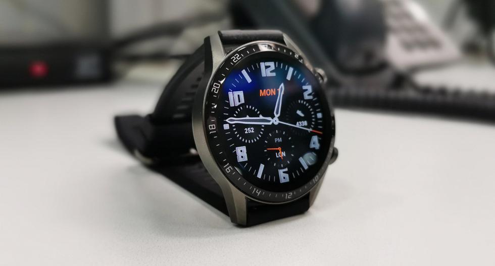 La segunda versión del Watch GT de Huawei hay llegado al mercado local más rápido de lo que se pensaba. (Foto: Bruno Ortiz B.)