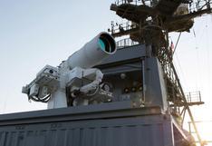 La primera arma láser del mundo que EE.UU. prueba en el Golfo Pérsico [VIDEO]