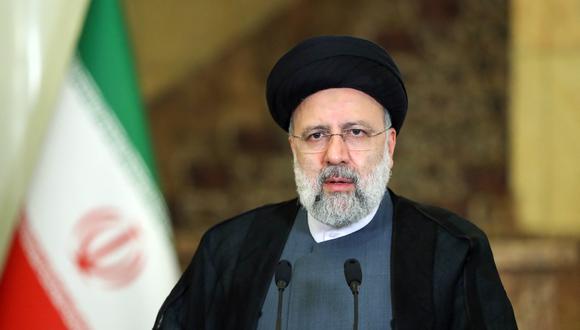 Ebrahim Raisi, presidente de Irán. (Foto: AFP)