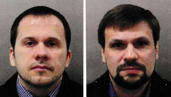 """""""Alexander Petrov"""" (lizquierda) y """"Ruslan Boshirov"""" han sido vinculados con la explosión en República Checa. (Reuters)."""
