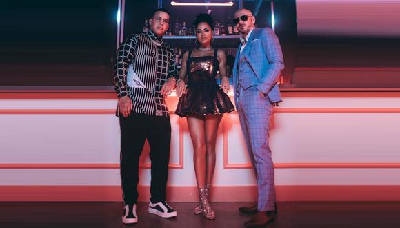 Natti Natasha y Daddy Yankee estarían trabajando en una colaboración con Pitbull. (Foto: @daddyyankee)