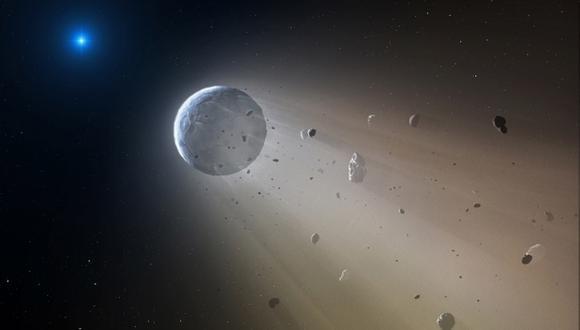 """Los asteroides podrían ser """"insignificantes"""" en términos cósmicos, pero """"pueden presentar una amenaza para la humanidad si se lo permitimos"""", señala la ESA. (Foto: AP)"""