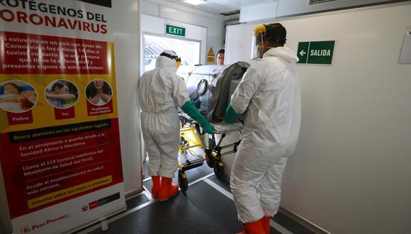 Paciente con coronavirus se encuentra estable pero permanecerá en cuarentena por 10 días más. (Foto referencial: Alesaandro Currarino)