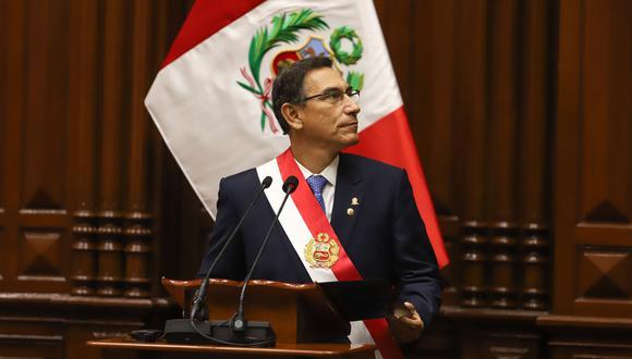Martín Vizcarra se refirió a la fragilidad de nuestra economía. (Foto: Piero Vargas | GEC)