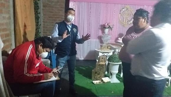 Piura: personal municipal intervino a personas celebrando un quinceañero en Castilla (Foto: Municipio de Castilla).