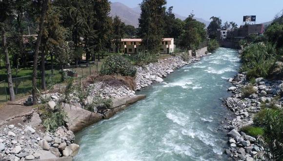 El río Rímac aumentó su caudal en los últimos días tras intensas lluvias. (GEC)