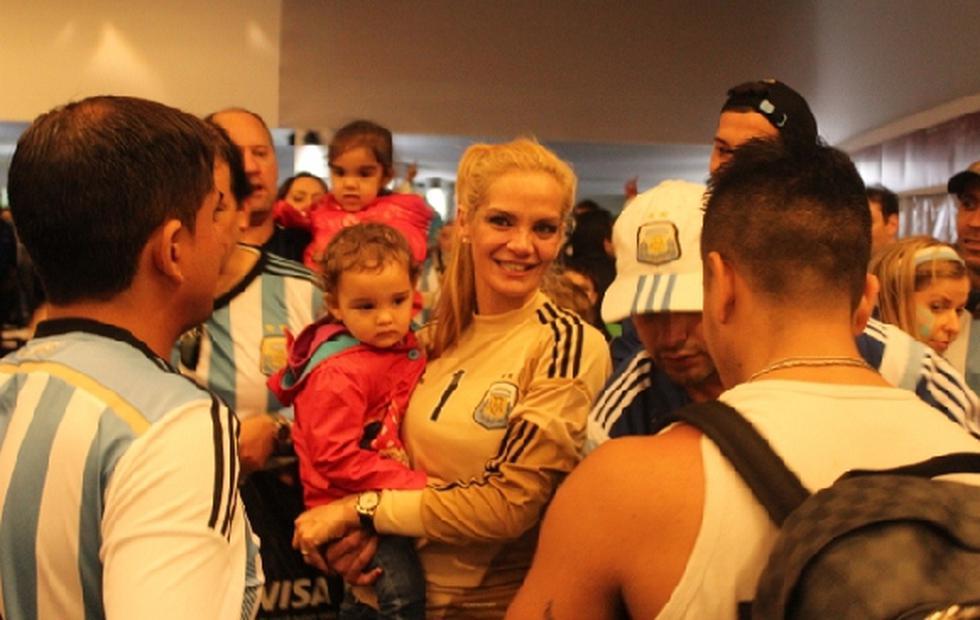 Eliana, esposa de Romero, compartió su alegría con El Comercio - 1