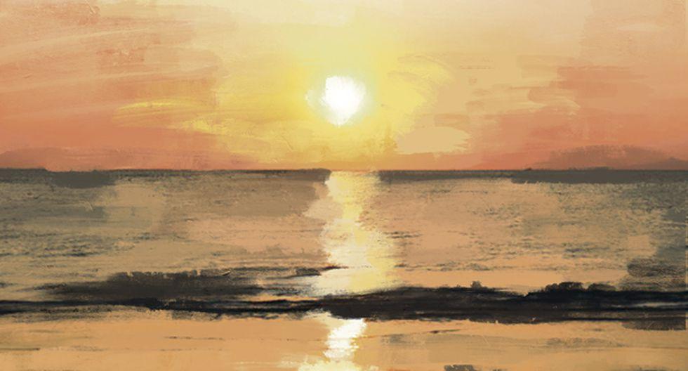 """""""Las familias más distinguidas que veranean en estas dos últimas playas han decidido reunirse dos veces por semana"""". (Ilustración: Giovanni Tazza)."""