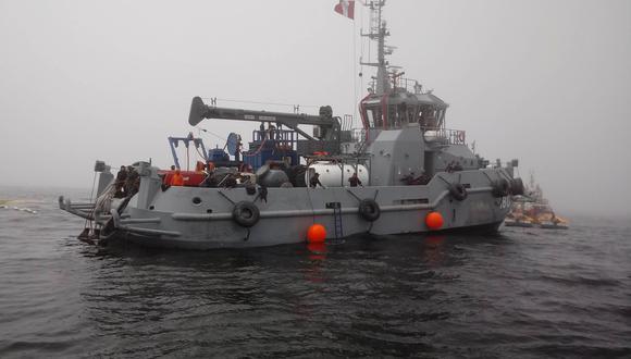 Fiscalía de Chimbote dispuso la inmovilidad de la nave Malena para que se realicen las investigaciones. (Foto: Ministerio Público del Santa)