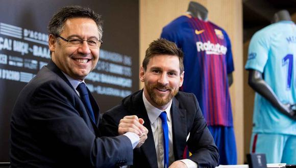Ronald Koeman revela que sí existía tensión entre Lionel Messi y Josep Bartomeu. | Foto: EFE