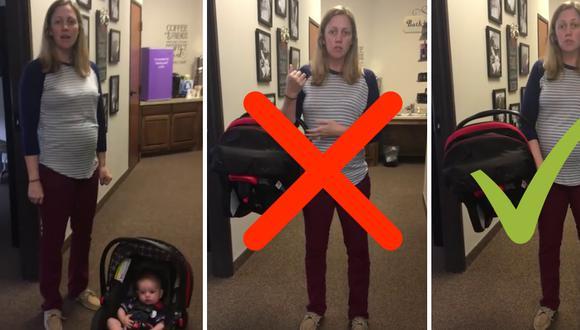Este método ahorrará a los padres de familia futuras visitas al quiropráctico. (Foto: Bridge Family Chiropractic en Facebook)