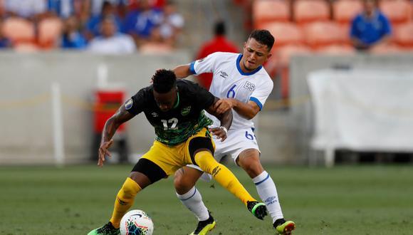 El Salvador y Jamaica no pasaron del empate y todo sigue sin definirse en el Grupo C de la Copa Oro 2019.   Foto: Diario Diez