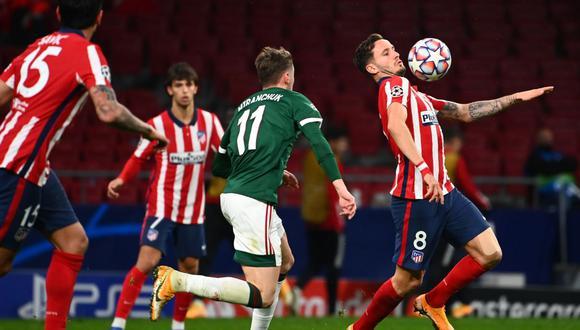 Atlético de Madrid sumó 5 puntos tas empatar 0-0 ante Lokomotiv por la fecha 4 de la Champions League. (Foto: AFP)