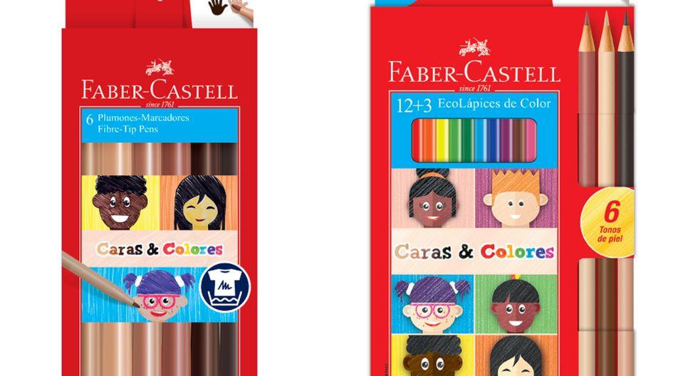 Faber-Castell lanza Caras&Colores, la nueva línea de EcoLápices y plumones que cuenta con seis tonos de piel para que los niños y niñas se representen tal y como son, promoviendo el respeto y autoestima entre ellos.