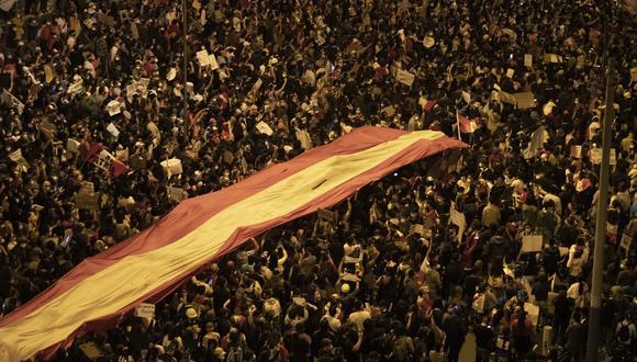 Junín: reportan nuevos casos de COVID-19 luego de la movilizaciones en la Marcha Nacional. (Foto referencial: GEC)
