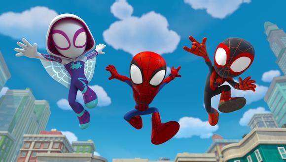 Spider-Man y sus sorprendentes amigos' llega a Disney Plus este 22 de setiembre.