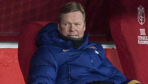Ronald Koeman es entrenador de Barcelona desde agosto del 2020. (Foto: AFP)