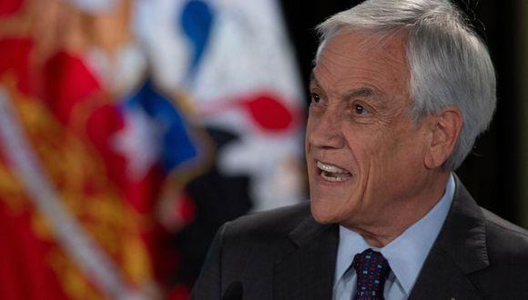 El gobierno de Sebastián Piñera presentó este lunes un plan por 5.500 millones de dólares para reactivar la economía de Chile, que en octubre se desplomó 3,4% debido a la crisis social que golpea al país desde hace 46 días. (AFP)