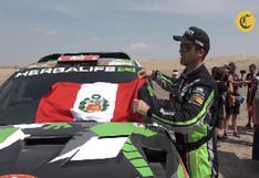 """Nicolás Fuchs """"Fue un Dakar corto, pero muy duro""""."""