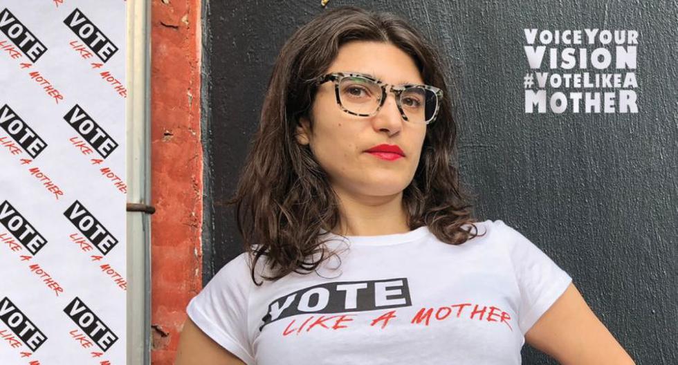 La activista Sara Berliner, fundadora del movimiento Vote Like a Mother, defiende que la participación de las madres en las próximas elecciones en Estados Unidos es crucial. (Captura de pantalla: Vote Like a Mother)