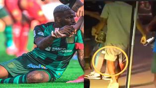 Jefferson Farfán quedó sentido tras una falta en el partido contra Sport Huancayo