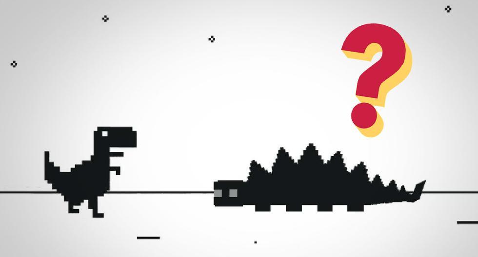 FOTO 1 DE 3 | ¿Sabías que el dinosaurio T-Rex de Google Chrome tenía final? Así acaba el juego. | Foto: Google (Desliza a la izquierda para ver más fotos)