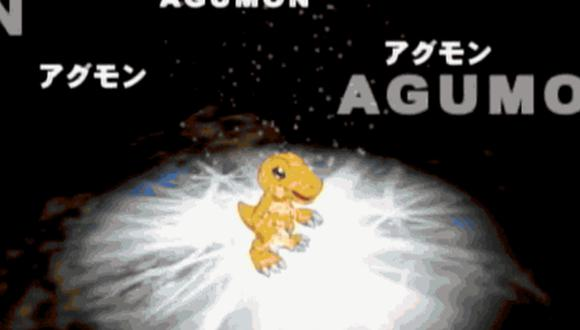El video de YouTube de Agumón digievolucionando en portugués acumuló más de 500 mil vistas. | Toei