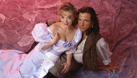 Edith González y Eduardo Palomo fueron los protagonistas de Corazón Salvaje, una de las telenovelas más exitosas de Televisa (Foto: Televisa)