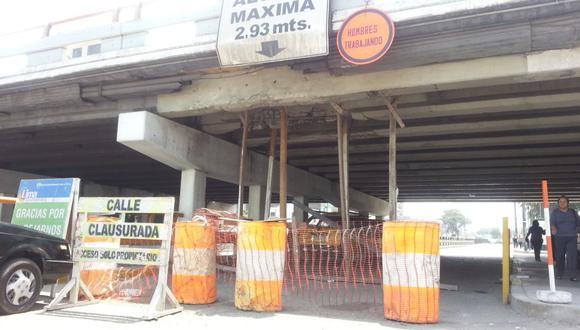 El debilitado puente de la Av. Brasil sigue en pie de Milagro - 2