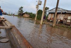 Cinco centros educativos resultaron afectados tras desborde del río Marañón en Loreto