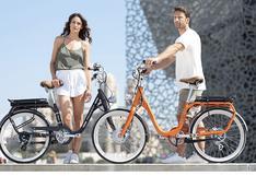 Esta bicicleta eléctrica de estilo vintage es la novedad de una marca de autos   FOTOS