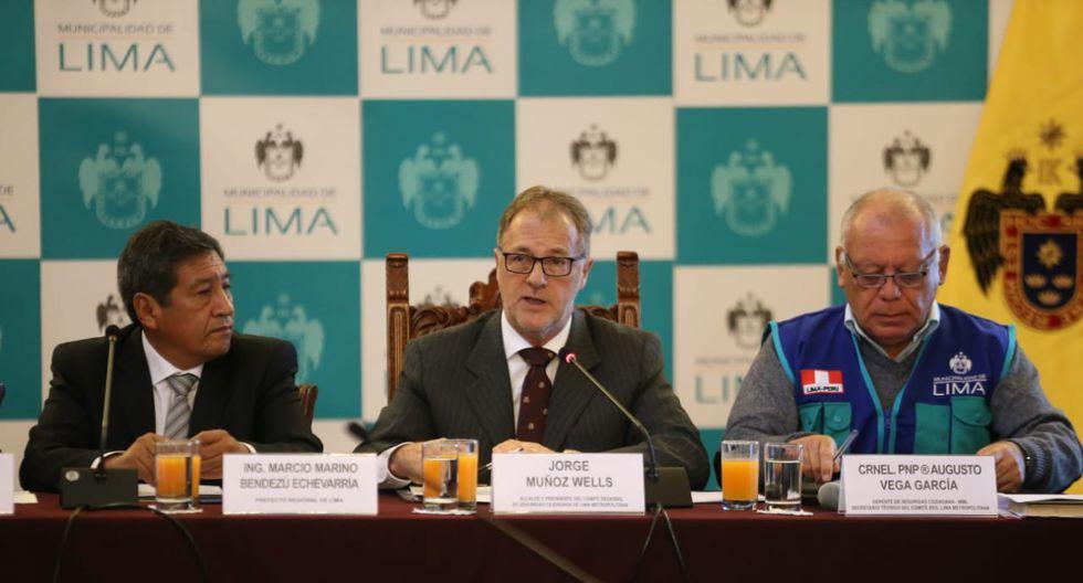 """Alcalde de Lima, Jorge Muñoz, calificó de medida """"acertada"""" que, desde el próximo 15 de junio, el Perú solicitará una visa humanitaria a venezolanos. (Foto: Manuel Melgar)"""