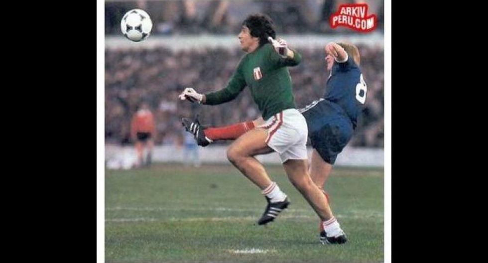 Ramón Quiroga disputó dos mundiales con la selección peruana en Argentina 78 y España 82. (Foto: Arkiv Perú).