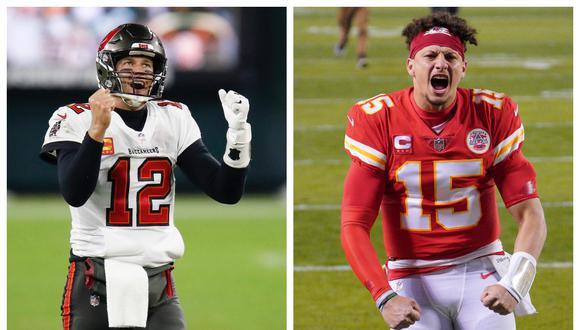 Tom Brady enfrentará a Patrick Mahomes en el Super Bowl