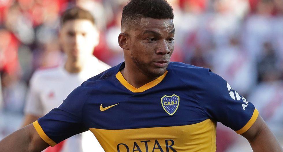 Frank Fabra será el lateral por izquierda de Boca Juniors. (Foto: AFP)