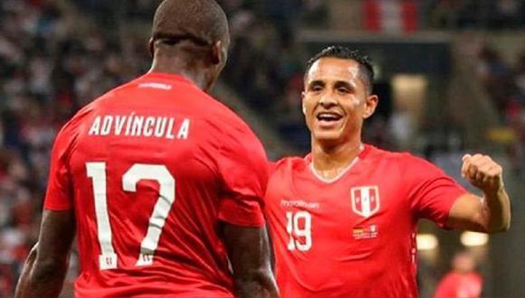 Advíncula y Yotún están cada vez más cerca del club con los cien partidos en la selección peruana. (Foto: EFE)