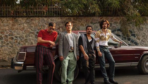 """Siguiendo los pasos del """"Mon"""", los hombres se convirtieron en los narcojuniors y cometieron una serie de delitos que hoy son retratados en la nueva temporada de la serie de Netflix, """"Narcos México 3"""" (Foto: Narcos / Instagram)"""