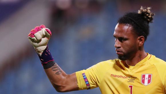Pedro Gallese es el arquero titular dentro del esquema de Ricardo Gareca. (Foto: Reuters)