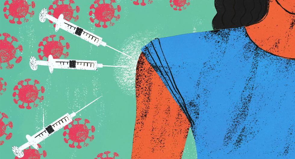 Diez países en el mundo han empezado a aplicar una tercera dosis pese a que la OMS y la FDA han manifestado que no existe sustento para aplicarla. (Ilustración: Víctor Aguilar)