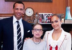 "Jennifer Lopez lamentó la muerte de Ruth Bader Ginsburg: ""Tengo el corazón roto"""
