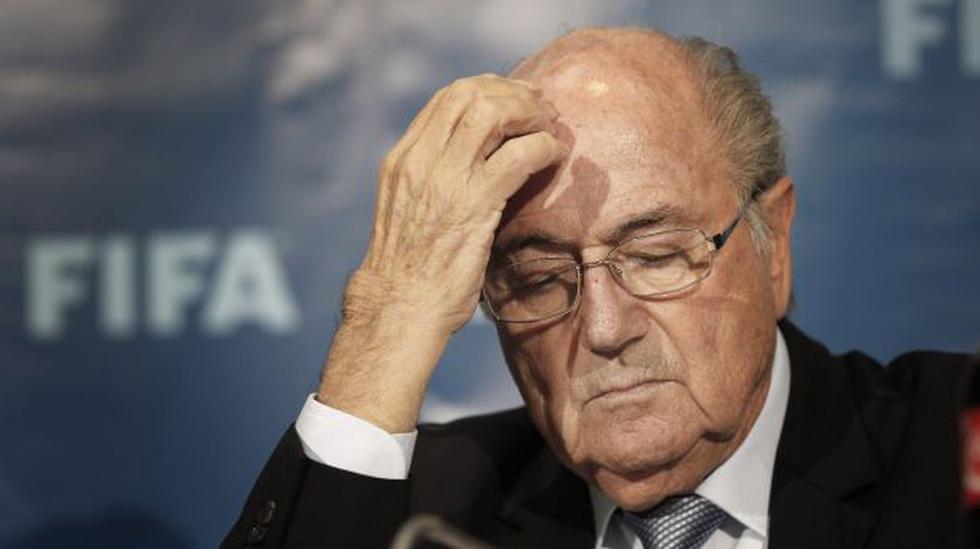 Joseph Blatter está hospitalizado desde el fin de semana - 1