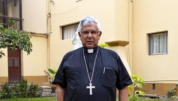 Monseñor Ricardo García García se encuentra en UCI y recibe oxígeno a través de ventilación mecánica. (Foto: Conferencia Episcopal Peruana)