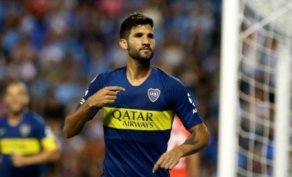 Boca Juniors vs. San Lorenzo EN VIVO: Lisandro López anotó golazo para el 1-0 xeneize en el Nuevo Gasómetro. (Foto: AFP)