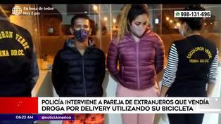 Ate: Policía captura a pareja que vendía droga por delivery