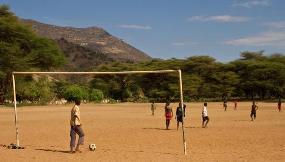 Blog: La fiebre del fútbol retratada por Daniel Barreto