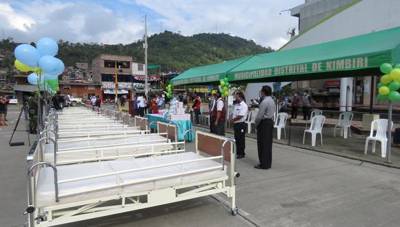 En el hospital también se entregaron 10 camas clínicas ortopédicas adicionales. (Foto: Jorge Quispe/GEC)