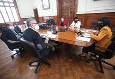 """Vocero de Somos Perú tras reunión en la PCM: """"Vamos a evaluar la confianza sobre la base de los pedidos que hemos realizado"""""""