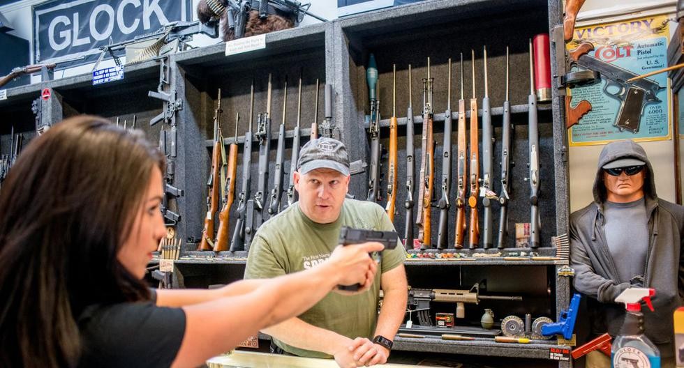 Gun sales continue to skyrocket in the United States: 17 million people bought one in 2020