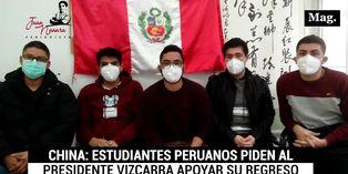 Coronavirus: Estudiantes peruanos piden al presidente Vizcarra apoyar su regreso para evitar contagio